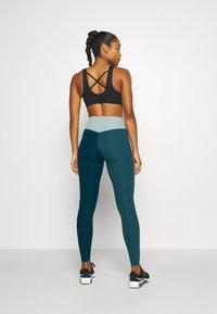 Nike Performance - ONE LUXE - Leggings - dark teal green - 2