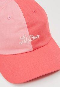 Lil'Boo - SPLIT DAD CAP - Lippalakki - pink/light pink - 2