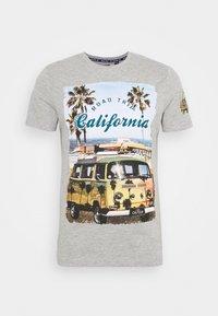 LAGOON - Print T-shirt - grey marl