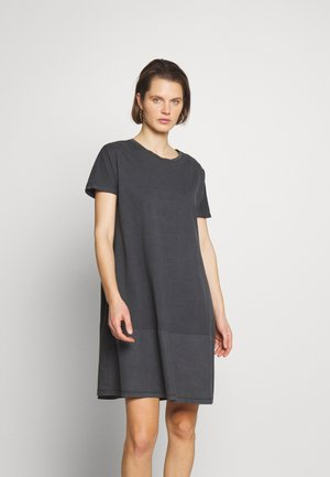 FAB MIX DRESS - Jersey dress - black