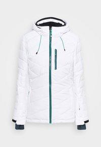SAVOGNIN QUILTED - Ski jacket - weiss