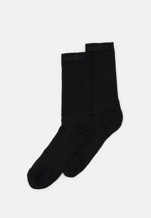 LONG SOCKS 2 PACK - Sports socks - black