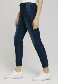 TOM TAILOR - Relaxed fit jeans - mid stone wash denim - 3