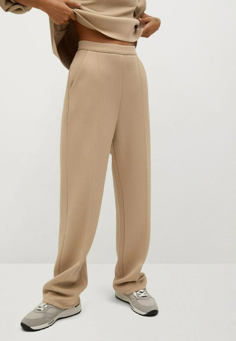 Mango - TAMMY - Trousers - beige