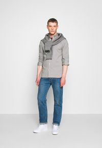 Tommy Hilfiger - SLIM STRETCH - Overhemd - grey - 1
