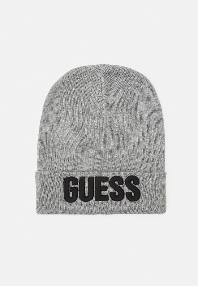 HAT WITH LOGO UNISEX - Berretto - light heather grey