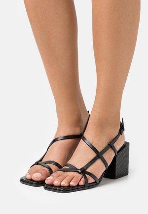 CALI - Sandals - schwarz