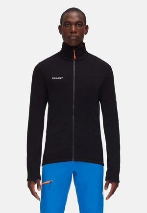 ACONCAGUA - Fleece jacket - black/white
