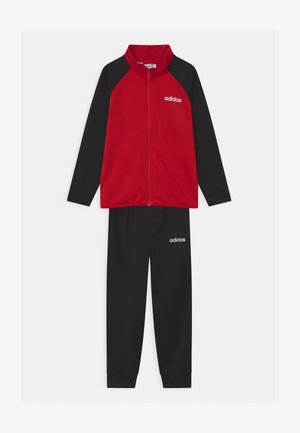 ENTRY UNISEX SET  - Tracksuit - scarle/white
