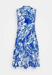 Emily van den Bergh - Day dress - white/blue - 4
