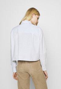 Weekday - GWEN  - Button-down blouse - blue/white - 2