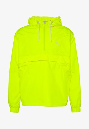 BACK LOGO POP OVER - Windbreaker - safety yellow