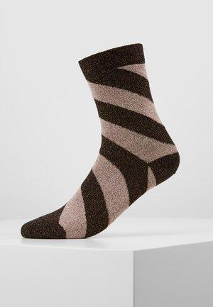 MARIA ROSE - Socks - copper/black