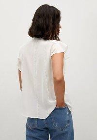 Mango - Button-down blouse - off white - 2