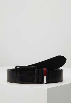 FLAG INLAY - Ceinture - black