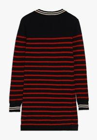 Scotch & Soda - DRESS IN YARN DYED STRIPE - Jumper dress - red/black - 1