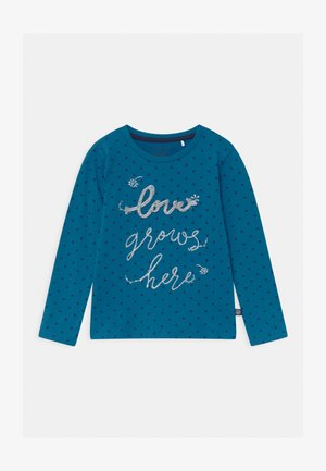 GIRLS  - Long sleeved top - blue saphire
