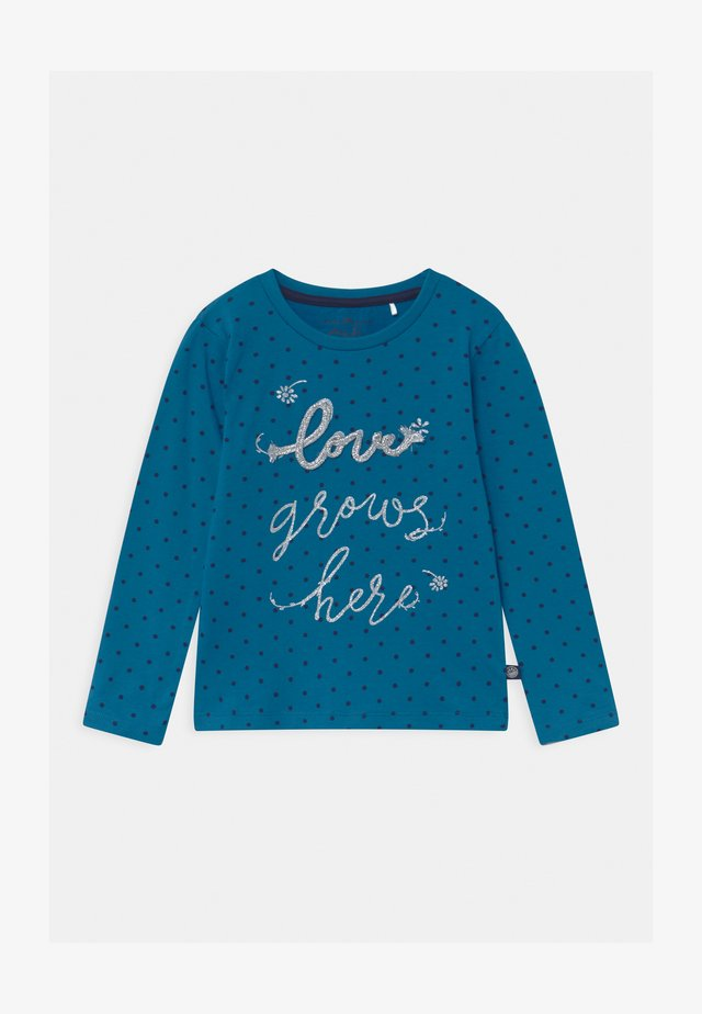 GIRLS  - Long sleeved top - blue saphire