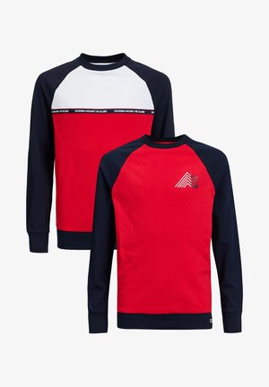 2-PACK - Langærmede T-shirts - red