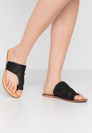 PSASIE  - T-bar sandals - black