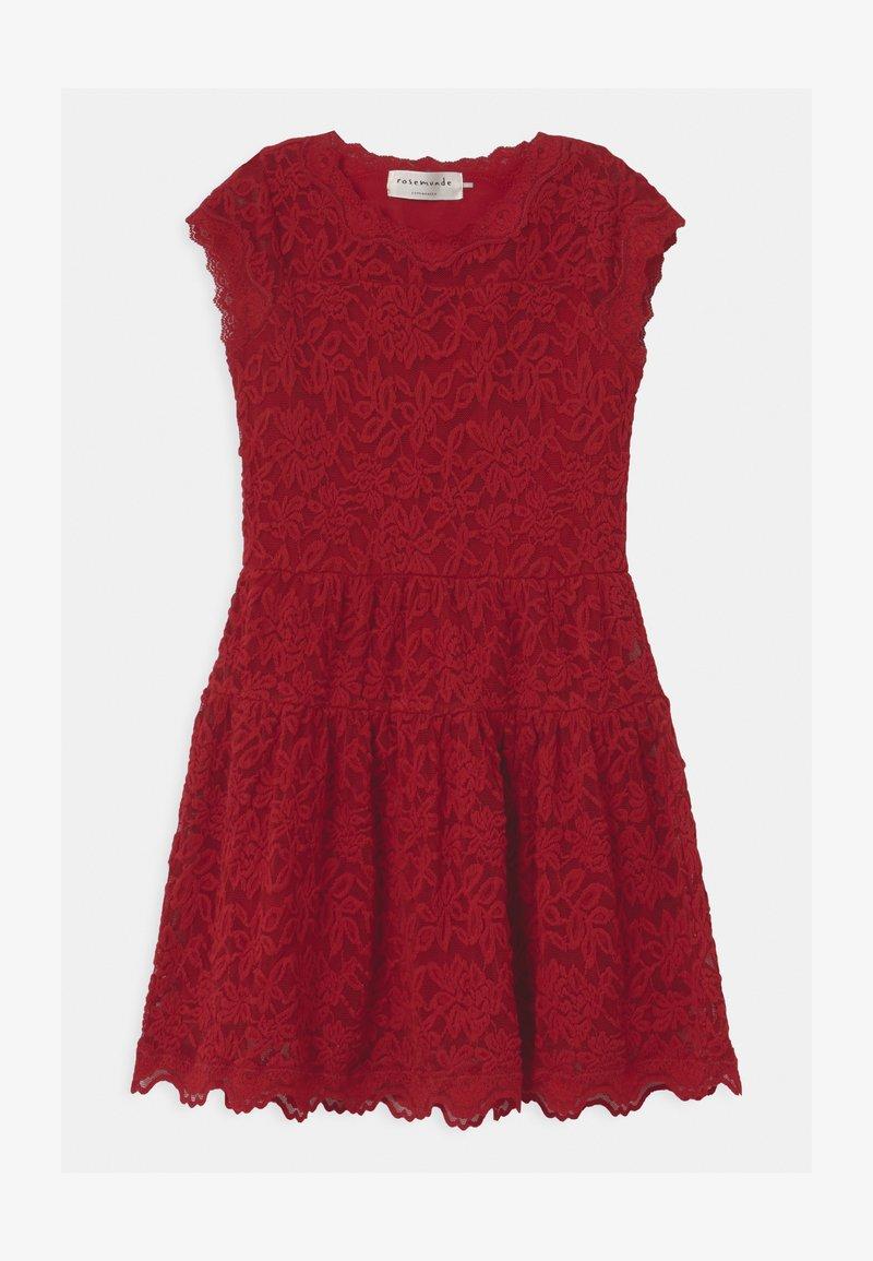 Rosemunde - LACE - Vestito elegante - cranberry