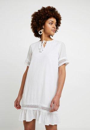 LUISA LION DRESS - Day dress - white