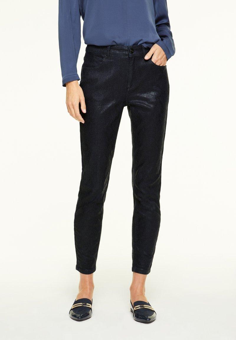 comma - Jeans Skinny Fit - dark blue