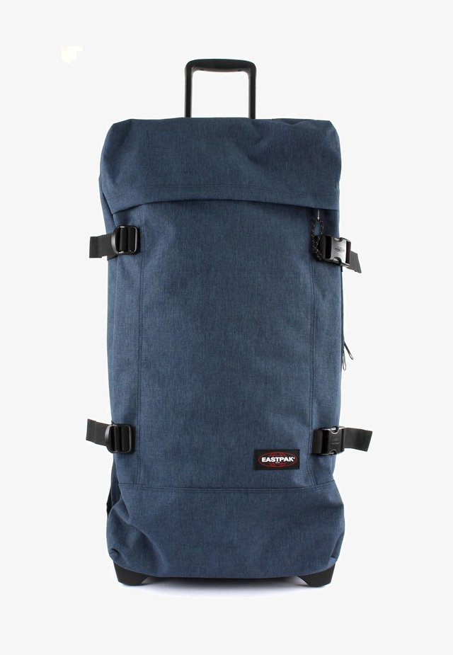 Wheeled suitcase - triple denim