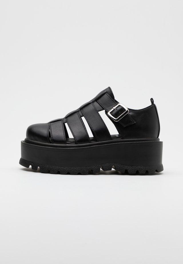 VEGAN DIODE - Loaferit/pistokkaat - black