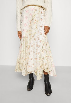 MAXI FULL - A-line skirt - multi-coloured