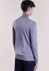 Bruuns Bazaar - CHARLES ROLL NECK - Pullover - mid grey melange - 2