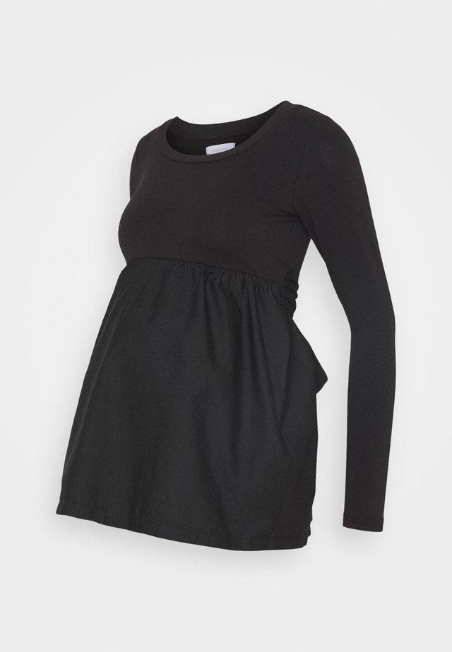 MLCAROLINA - Maglietta a manica lunga - black