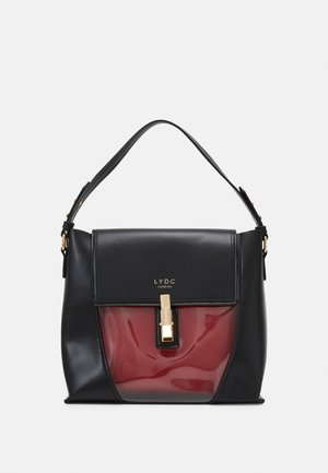 Handbag - black/red