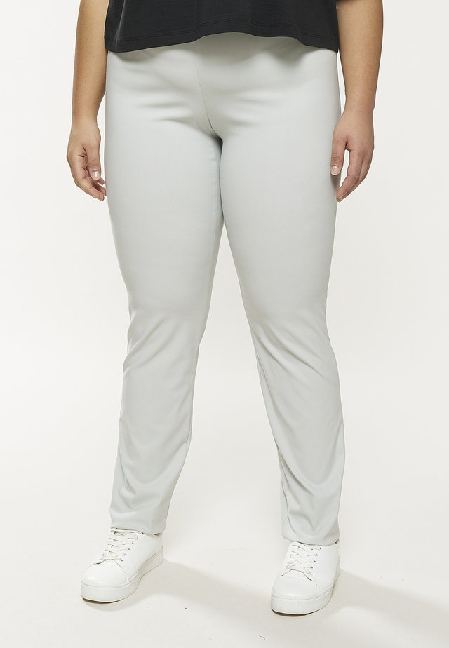 Leggings - Trousers - pearlgrey