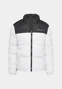 CONTRAST JACKET - Winter jacket - white