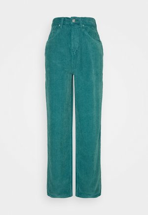 MODERN BOYFRIEND  - Trousers - teal