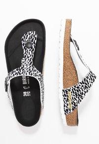 Birkenstock - GIZEH - T-bar sandals - black - 3