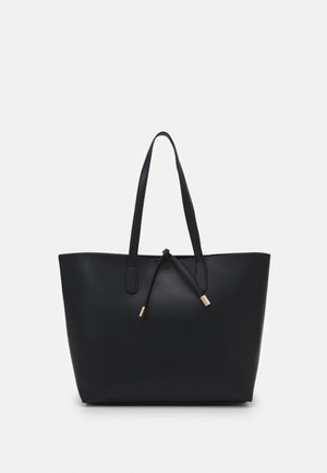 TIE DETAIL - Tote bag - black
