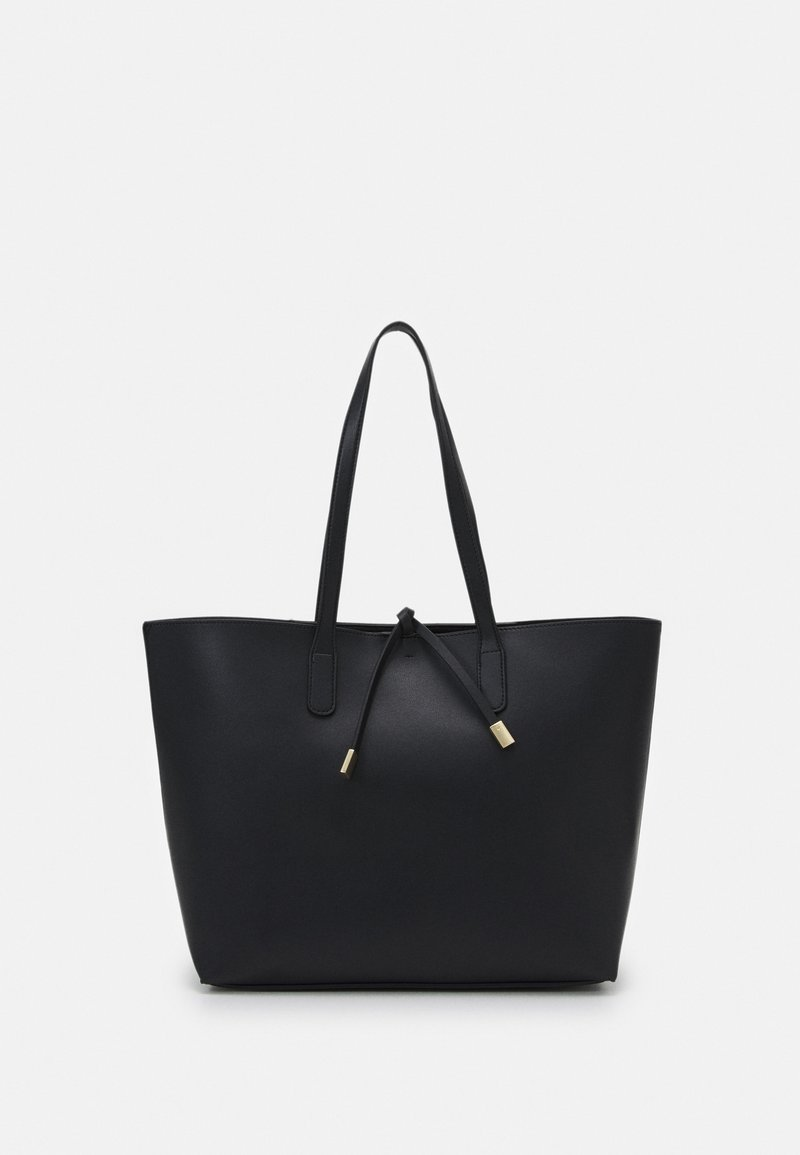 Dorothy Perkins - TIE DETAIL - Tote bag - black