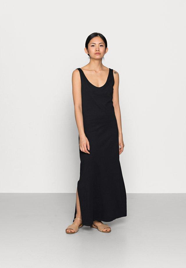 ONLMAY LIFE V-NECK DRESS  - Maxi-jurk - black
