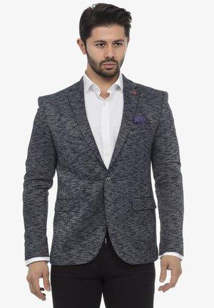 Blazer jacket - navymelange