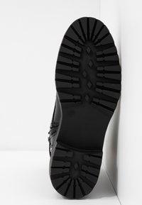Even&Odd - Cowboy/biker ankle boot - black - 6