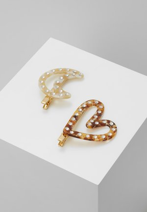 Hair styling accessory - gold-coloured/multi