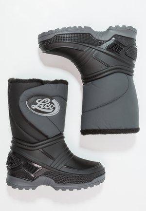 TERRA - Vysoká obuv - schwarz/grau