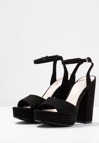 Vero Moda - VMCLOVER  - Korolliset sandaalit - black - 4