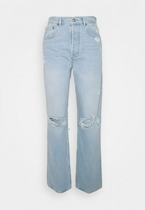 THE ZIGGY HIGH RISE RELAXED - Relaxed fit jeans - light blue