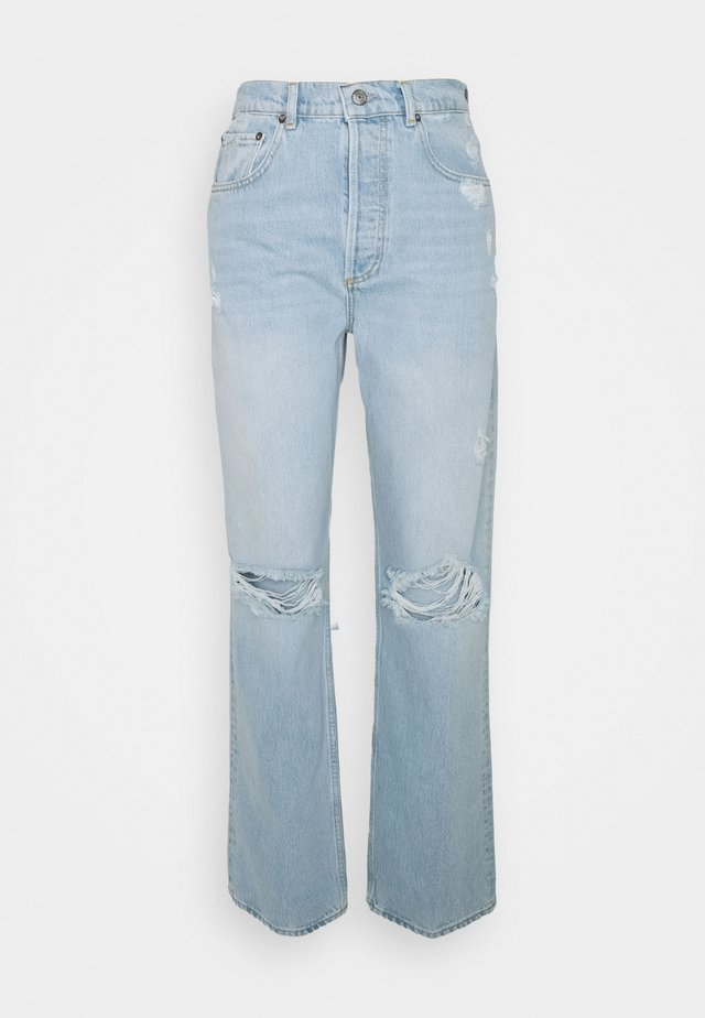 THE ZIGGY HIGH RISE RELAXED - Jeans baggy - light blue