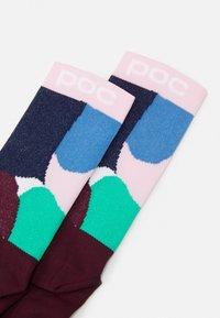 POC - ESSENTIAL PRINT SOCK UNISEX - Sports socks - multi/opal/basalt - 1