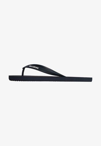 TIDES SOLID - T-bar sandals - dark indigo