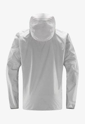 JACKET MEN - Hardshell jacket - stone grey
